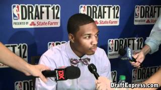 Damian Lillard 2012 NBA Draft Media Day