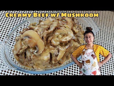 How to cook Creamy Beef w/ Mushroom