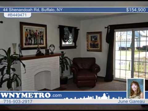 44 Shenandoah Rd  Buffalo, NY Homes for Sale | wnymetro.com