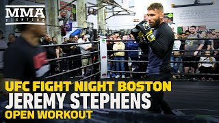 UFC Boston: Jeremy Stephens Open Workout Highlights - MMA Fighting by MMA Fighting