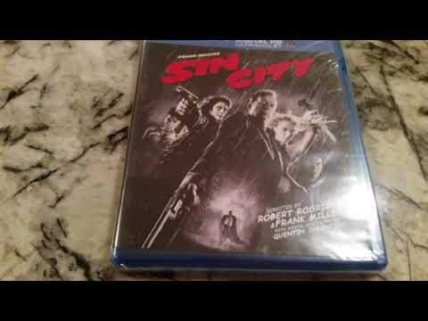 Sin City Blu Ray And Digital Set Unboxing Video