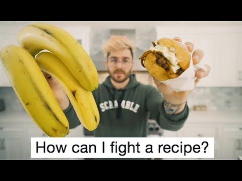 i tried making that terrible banana peel pulled pork sandwich