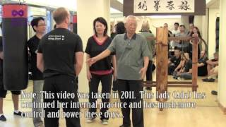 In the beginning practicing the traditional stance is crucial but at high level (Chu Shong Tin's level) there is NO STANCE! Mindful...