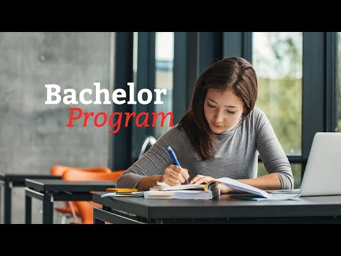 Bachelor Program: Be a student & Act like a Professional!