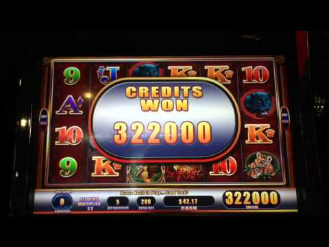 Tiger's Realm II Awesome Burst penny slot machine (Coushatta)