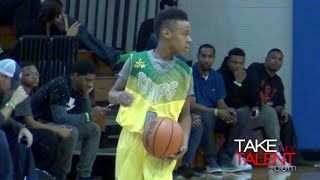10 Year-Old LeBron James Jr. Has GAME! 2014 Ronald Searles Holiday Classic Day 2 Highlights!