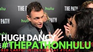 Hugh Dancy interviewed at Hulu's 'The Path' S2 Premiere in Los Angeles #ThePathonHulu