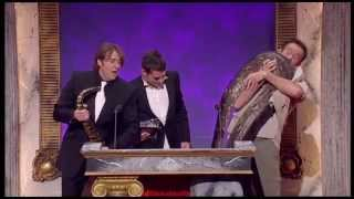 The British Comedy Awards 2006 - Live snake gets loose on stage