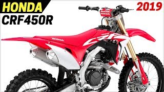 9. NEW 2019 Honda CRF450R Works Edition - Receives A Number of Important Updates For 2019