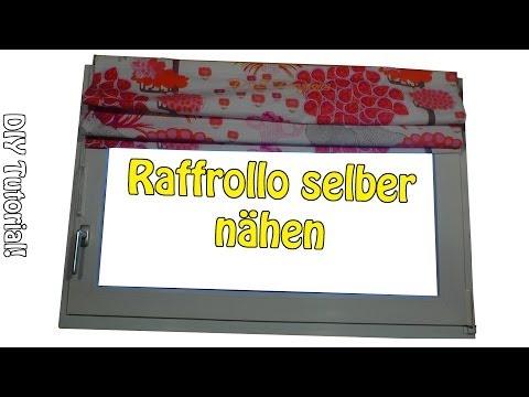 DIY | Faltrollo /  Raffrollo selber nähen | Nähen für Anfänger | Anleitung