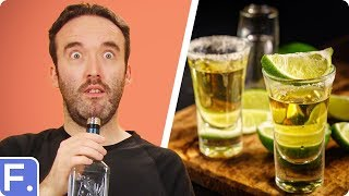 Irish People Taste Test Mexican Tequila
