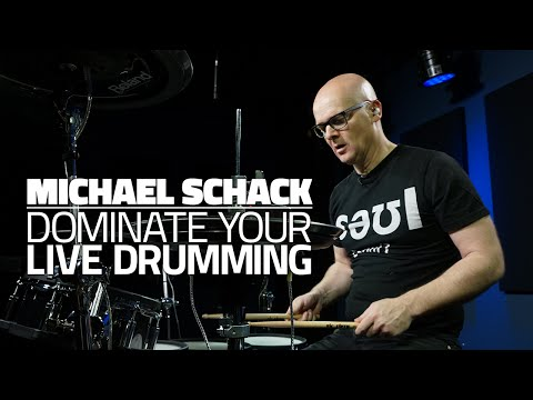 Michael Schack - Dominate Your Live Drumming Experience (FULL DRUM LESSON)