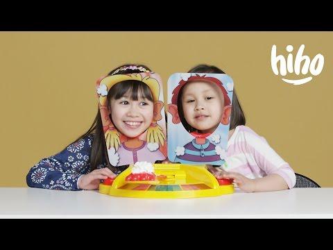 Kids Play Pie Face Showdown