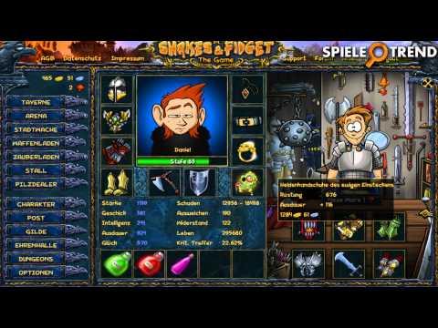 Shakes und Fidget: Spiele Vorstellung - Kostenloses Rol ...