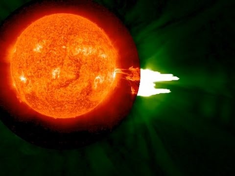 solar - NASA reported the sun emitted a mid-level solar flare, on August 24th. NASA's Solar Dynamics Observatory captured the images of the flare, which erupted on the left side of the sun. (Sept....