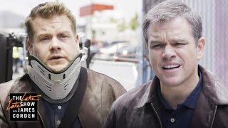 Video 'Jason Bourne' Stunt Double w/ Matt Damon MP3, 3GP, MP4, WEBM, AVI, FLV Mei 2018