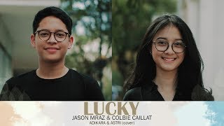 Video Lucky  - Jason Mraz, Cobie Caillat (Astri, Adikara, Andri Guitara) MP3, 3GP, MP4, WEBM, AVI, FLV Juli 2018
