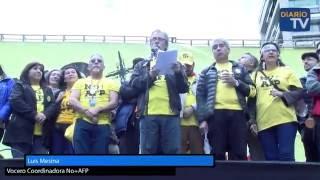 No + AFP llama a desafiliarse de Cuprum y Provida