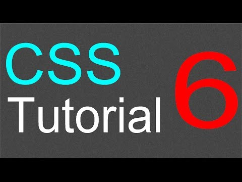 Using Classes in CSS