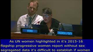 Jo Crawford's intervention at the HLPF 2017: UN Web TV - http://webtv.un.org