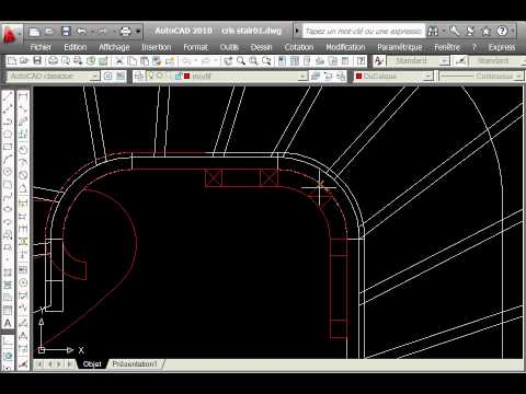 curved stair with stairdesigner and autocad0001