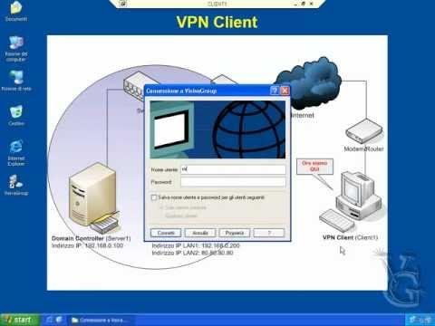 Windows Server 2003: Installare e Configurare un Server VPN - Parte 1