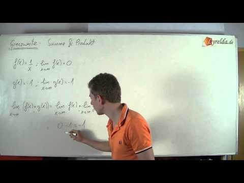 Grenzwertsätze - Summen & Produkte