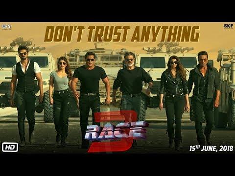 Race 3 | Don't Trust Anything | BTS | Salman Khan | Remo Dsouza (видео)