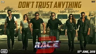 Video Race 3   Don't Trust Anything   BTS   Salman Khan   Remo Dsouza MP3, 3GP, MP4, WEBM, AVI, FLV Mei 2018