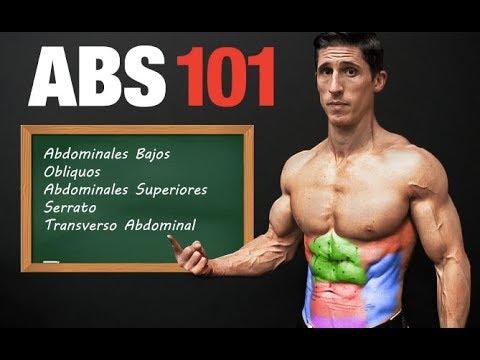 ABS 101 -¡Plan Paso por Paso Para un Six Pack! (TRABAJA TODAS LAS AREAS)