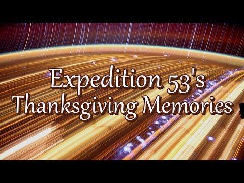 Expedition 53's Thanksgiving Memories © NASA Johnson