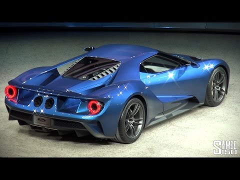 nuova ford gt - twin turbo v6 - rivelata al naias 2015
