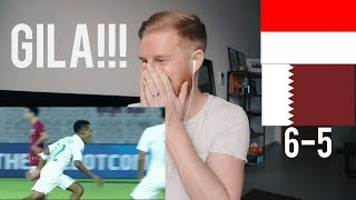 Video (GILA!!!) INDONESIA U-19 VS QATAR U-19 (AFC U-19) 5-6 // REACTION MP3, 3GP, MP4, WEBM, AVI, FLV Februari 2019