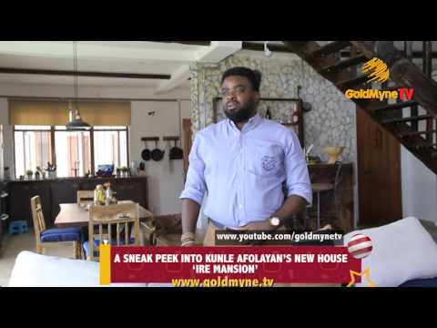 """INSIDE KUNLE AFOLAYAN'S MULTI MILLION NAIRA HOME... HE CALLS IT """"IRE MANSION"""""""