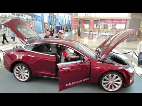 model vehicles - 2013 Tesla Model S Electric car - In this video you will have a look at the Interior and Exterior of the all new 2013 Tesla Model S - a rear wheel drive elec...