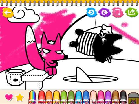 Video of Coloring Book for Kids!