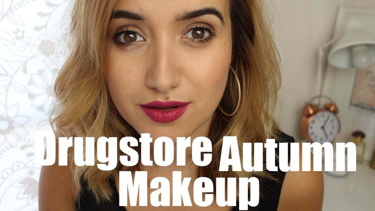 Autumn/Fall Drugstore Makeup | A Little Obsessed #AD