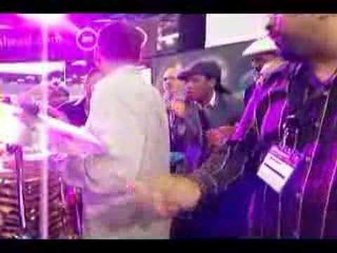 L.P. Music Booth Jamm @ The NAMM Show 2007 PAR~