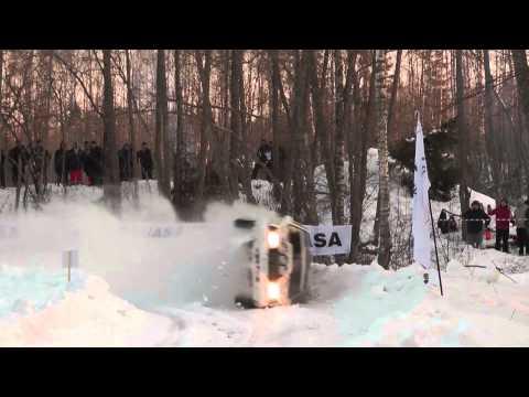Rally Sarma 2013 ANB Rally Team crash