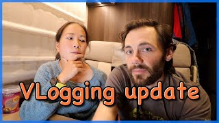 Vlogging update by The Climbing Nomads