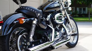 1. 2009 Harley Davidson Sportser 1200 Low Review - First time Harley Owner