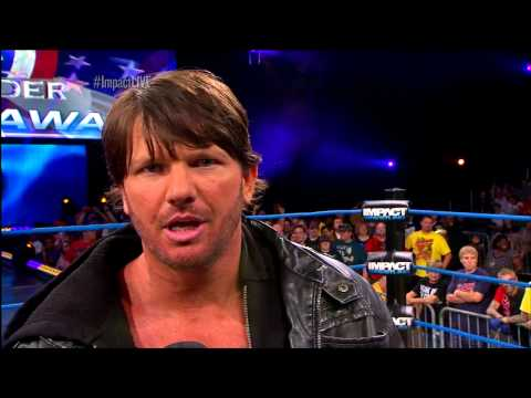 0 [Video] AJ Styles Releases His Own Pipe Bomb On Impact