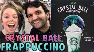 Starbucks CRYSTAL BALL Frappuccino TASTE TEST! ft MY BROTHER! by GRAV3YARDGIRL