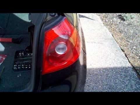 How to Replace a 2008 VW Rabbit Brake light