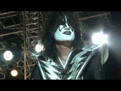 Backstage - KISS in cheyenne, wy for Frontier Days 2010. They rocked!