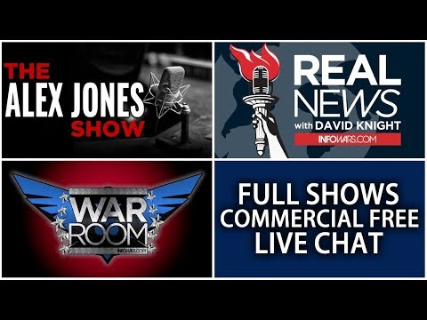 LIVE 📢 Alex Jones Infowars Stream With Today's LIVE Shows • Tuesday 12/12/17 (видео)