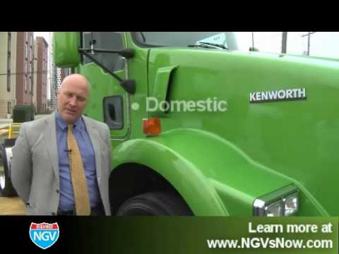 Грузовики Kenworth T800 Natural Gas Truck Overview