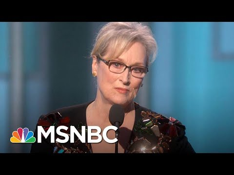 Meryl Streep Weighs In On Harvey Weinstein's Sexual Harassment Allegations | Morning Joe | MSNBC