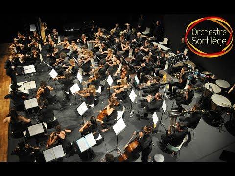 Concerto piano en La mineur, Op.16 2e mvt - E. Grieg - Orchestre Symphonique Sortilège
