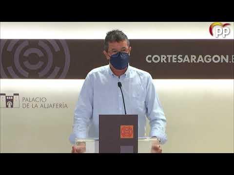 """El PP denuncia """"falta de transparencia y nulo consenso"""" en la reforma del modelo de prevención y extinción de incendios"""